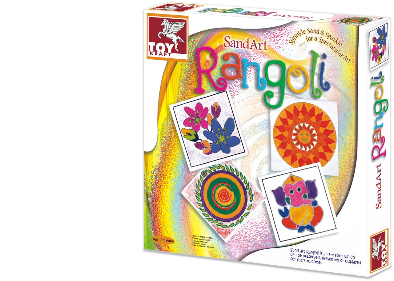 Sand Art Rangoli kit